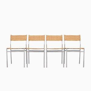 Chaises de Salon MOdel SE05 Mid-Century par Martin Visser pour t Spectrum, 1960s, Set de 4