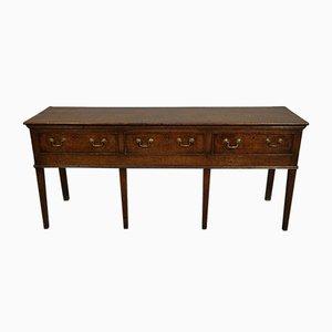 Tavolino in quercia, XVIII secolo