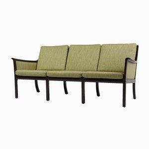 Mid-Century 3-Sitzer Sofa von Ole Wanscher für Poul Jeppesens Møbelfabrik