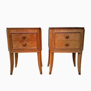 Nightstands, 1940s, Set of 2