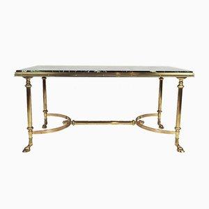 Vintage Rectangular Bronze Coffee Table