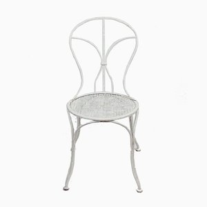 Vintage Wrought Iron Garden Chair
