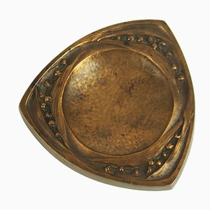 Antike Jugendstil Bronze Dekorativ von H. Veillard