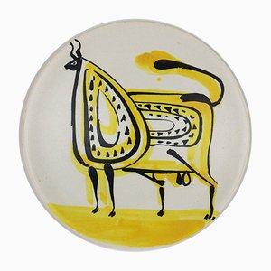 Bol Vintage en Céramique par Roger Capron