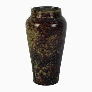 Vintage Stoneware Vase by Eugène Lion