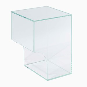 Arch 01.2 Clear Glass Side Table by Barh.design