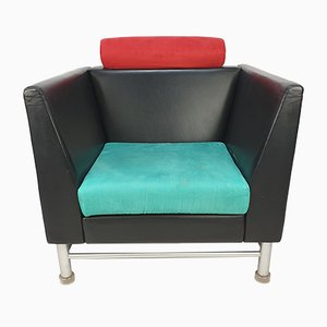 East Side Lounge Chair by Ettore Sottsass for Knoll Inc. / Knoll International, 1980s