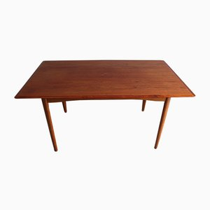 Mid-Century Danish Teak and Oak Dining Table by Edmund Jørgensen for Edmund Jørgensen, 1960s