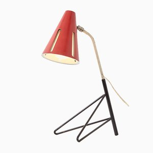 Mid-Century Sun Series Table Lamp by H. Th. J. A. Busquet for Hala, 1950s