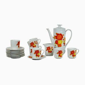 Coffee Set from Bavaria Seltmann Weiden, 1960s