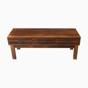 Small Swedish Rosewood Chest of Drawer from Atelj