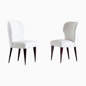Italian Dining Chairs by Gio Ponti for Casa e Giardino, 1942, Set of 5