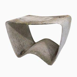 Mid-Century G59 / 11 Stool by Ludwig Walser for Eternit Schweiz