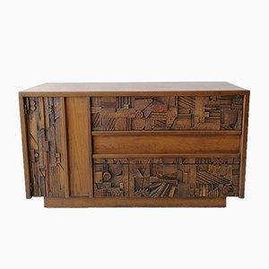 American Brutalist Sideboard from Lane Furniture, 1960s