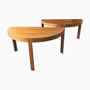Dining Tables by Johnny Sorensen & Rud Thygesen for Botium, 1960s, Set of 2