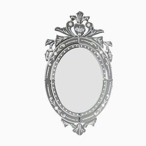 Neuer ovaler venezianischer Spiegel von Zenza
