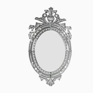 New Oval Venetian Mirror by Zenza