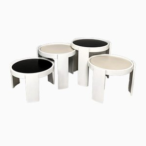 Nesting Tables by Gianfranco Frattini for Cassina, 1970s