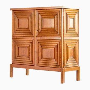 Mueble sueco de roble de Oscar Nilsson, años 40
