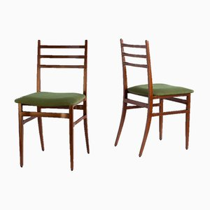 Italian Dining Chairs by Guglielmo Ulrich for Saffa, 1961, Set of 6