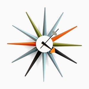 Horloge Sunburst par George Nelson pour Vitra