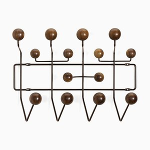 Walnut Coat Rack from Vitra, 1950s