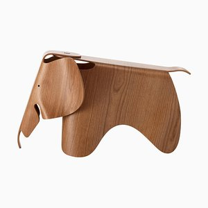 Plywood & Cherry Elephant by Ray and Charles Eames for Vitra, 1940s