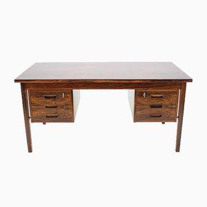 Dänischer Palisander Schreibtisch von Arne Wahl Iversen, 1960er