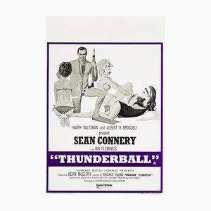 Vintage Feuerball Poster von Robert McGinnis, 1973