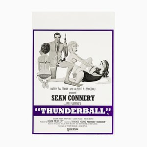 Vintage Thunderball Poster from Robert McGinnis, 1973