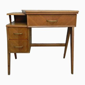 Desk of Previous Singer Sewing Machine Furniture, 1950s