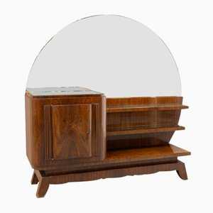 French Art Deco Rosewood Dressing Table, 1930s