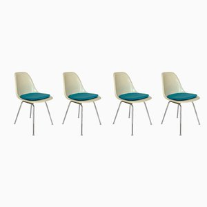 DSX Side Chairs by Charles & Ray Eames for Herman Miller, 1960s, Set of 4