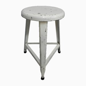 Industrial Steel Stool, 1960s