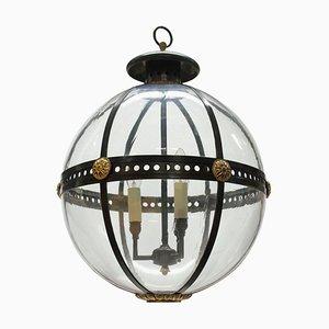 English Regency Style Globe Light, 1970s