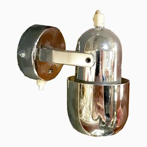 Italian Space Age Wall Lights in the Style of Gino Sarfatti, 1970s, Set of 2