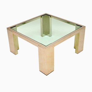 Chrome & Glass Coffee Tables, 1970s, Set of 2