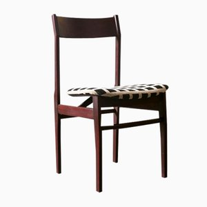 Mahogany Dining Chairs, 1960s, Set of 4