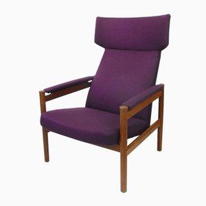 Mid-Century Armchair by Soren Hansen for Fritz Hansen