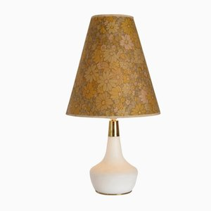 Floral Shade Table Lamp, 1970s