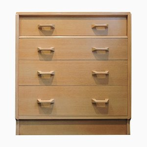 Mid-Century Oak 4-Drawer Chest of Drawers from G-Plan