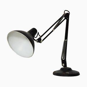 Lampe de Bureau Vintage Noire, 1970s