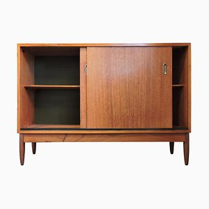 Two Door Afrormosia Cabinet Sideboard by Greaves & Thomas, 1960s