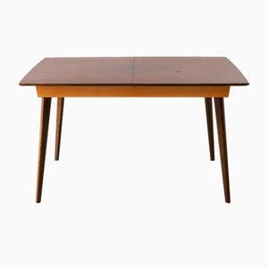 Mid-Century Scandinavian Extendable Dining Table