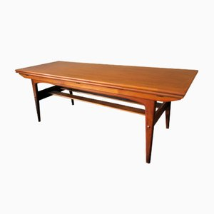Danish Teak Adjustable Dining Table by Kai Kristiansen, 1960s