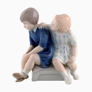 Vintage Porcelain 2261 Offended Figurine by Bing & Grondahl