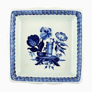 Large Square Tranquebar Fruit Bowl from Royal Copenhagen, 20th Century