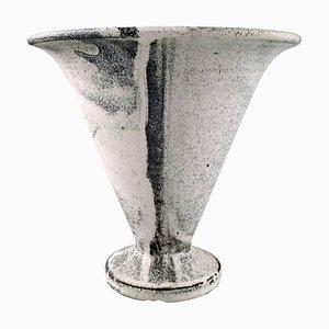 Glasierte Dänische Vase von Svend Hammershøi für Kähler, 1930er
