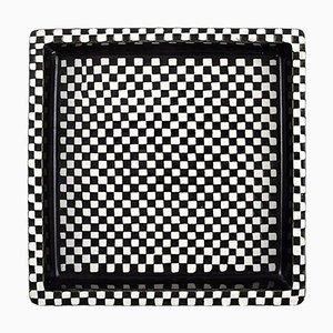Plat Domino en Céramique par Stig Lindberg pour Gustavsberg, 1950s