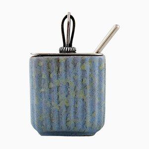Marmelade Jar in Ceramic by Michael Andersen, 20th Century, Set of 2